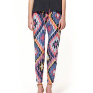 Gorman Cherokee Print Designer Pants Size 30